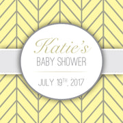 Baby Event Custom Label 5