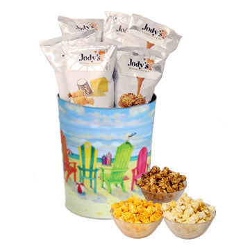 Jody's Beach 3 Gallon Popcorn Tin