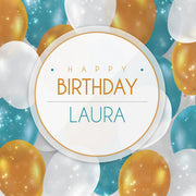 Birthday Label 4