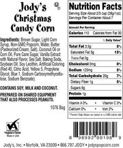 Christmas Candy Corn Happy Holidays Mailer