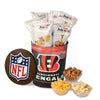 Cincinnati Bengals Popcorn Tin | Three Gallon Gift Tin with 8 Flavors