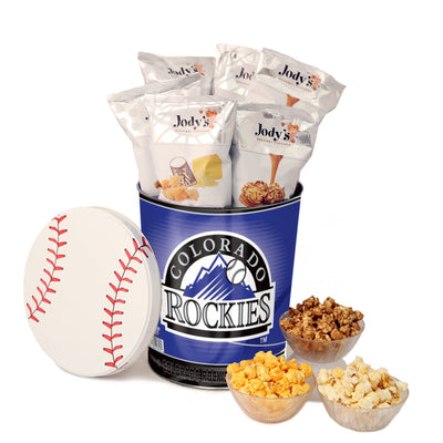 Colorado Rockies Popcorn Tin
