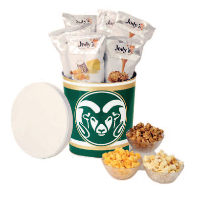 Colorado State Rams Popcorn Tin