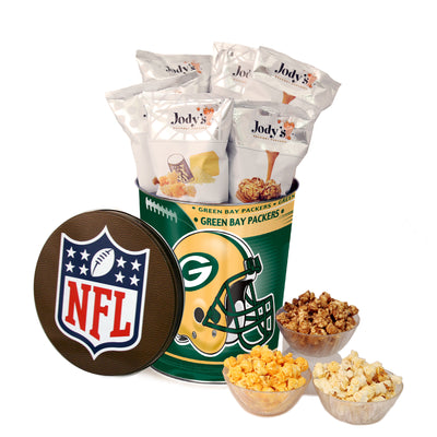 Green Bay Packers Popcorn Tin
