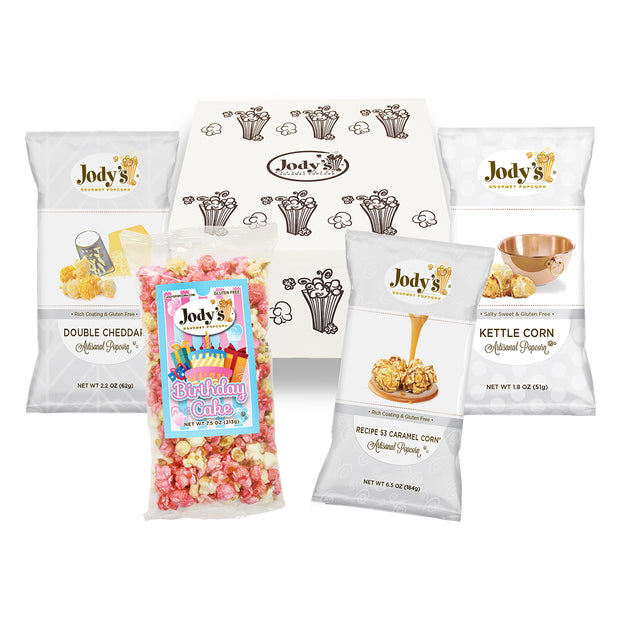 Jody's Designer Happy Birthday! Popcorn Mailer
