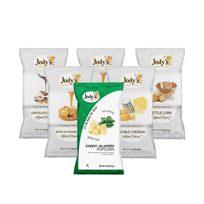 Jody's Favorites Popcorn Sampler