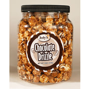 Chocolate Drizzle Popcorn Jars