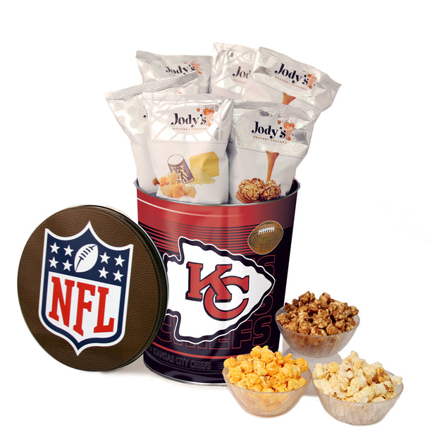 Kansas City Chiefs Popcorn Tin