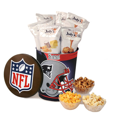 New England Patriots Popcorn Tin