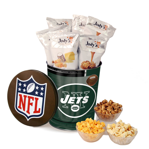 New York Jets Popcorn Tin