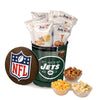 New York Jets Popcorn Tin | Three Gallon Gift Tin with 8 Flavors