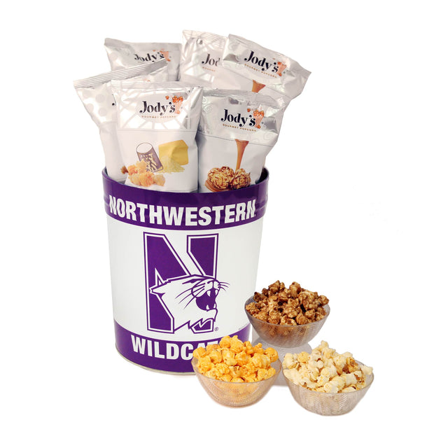 Northwestern University Popcorn Tin