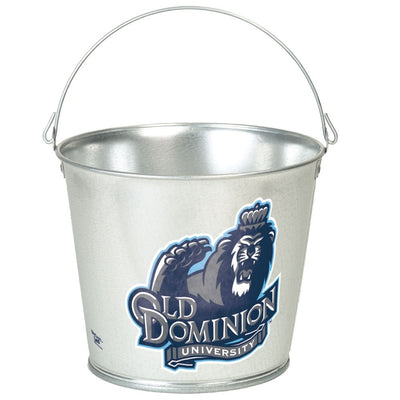 Old Dominion University Pail Popcorn Tin | One Gallon Gift Tin with 3 Flavors - Jody's Popcorn
