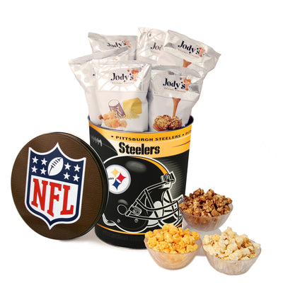 Pittsburgh Steelers Popcorn Tin