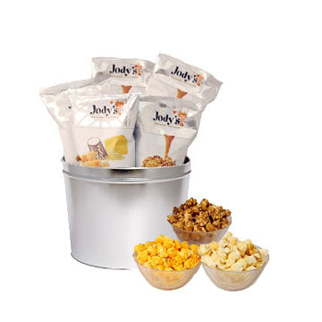 Platinum Solid 2 Gallon Popcorn Tin