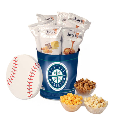 Seattle Mariners Popcorn Tin
