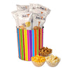 Jody's Bright Stripes Popcorn Gift Tin | 3 Gallon