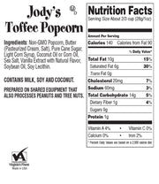 Toffee Bulk Popcorn Box