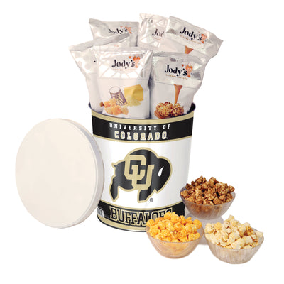 University of Colorado Popcorn Tin