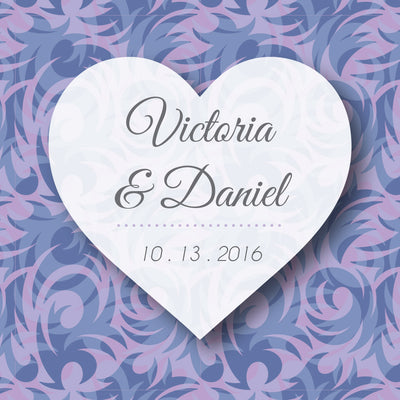Wedding Label E