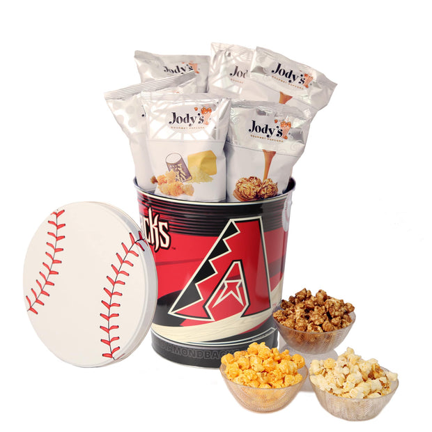 Arizona Diamondbacks Popcorn Tin
