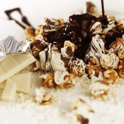 Chocolate Drizzle Popcorn
