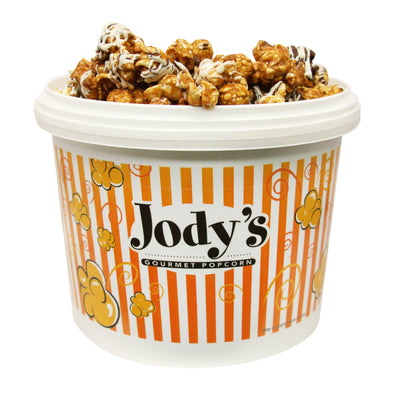 Chocolate Drizzle Popcorn Party Tub