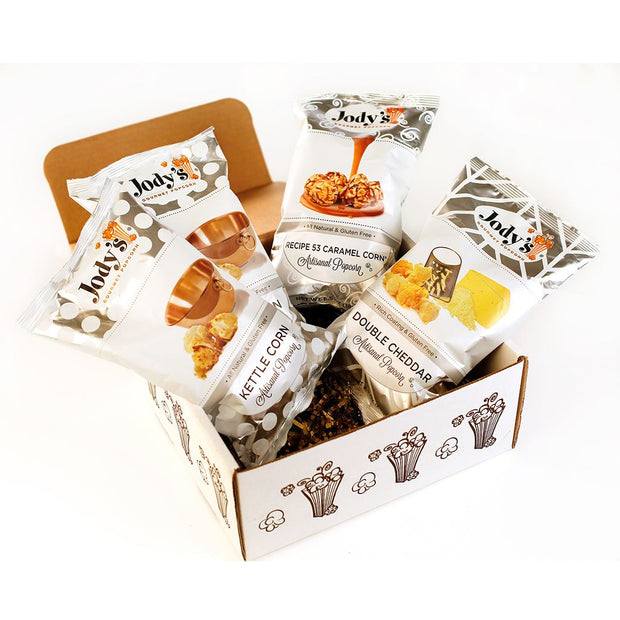 Jody's Best Sellers Popcorn Gift Box