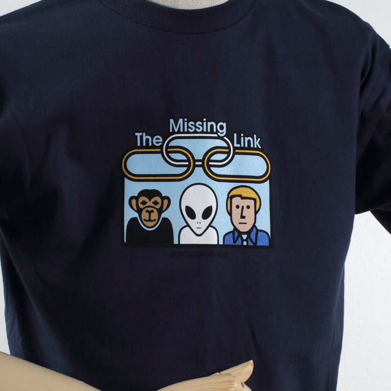Missing Link Bordered T-Shirt