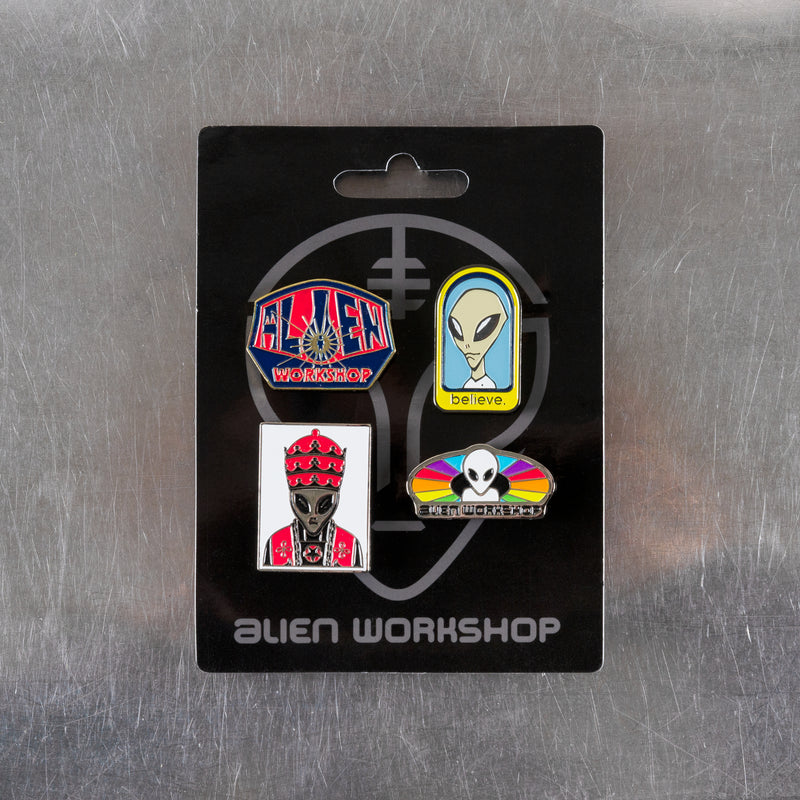 Logo Pin 4-Pack