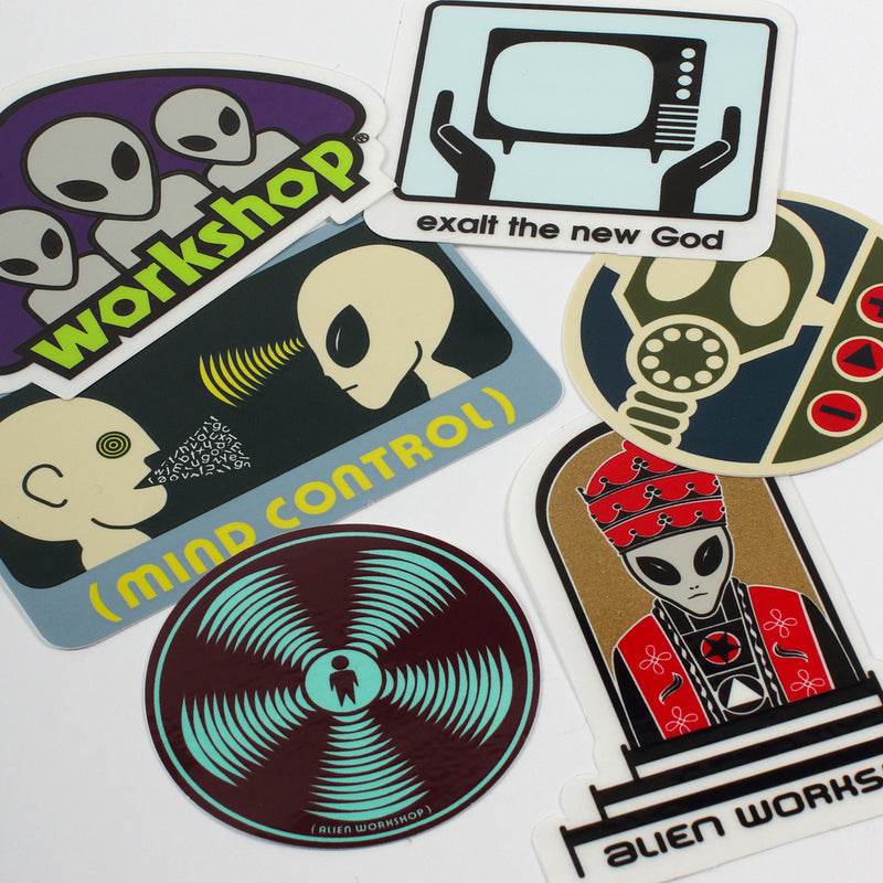 Sticker 6-Pack #2