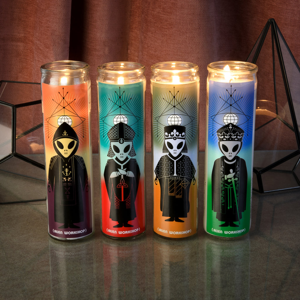 High Priests Votive Candles 4 Pack