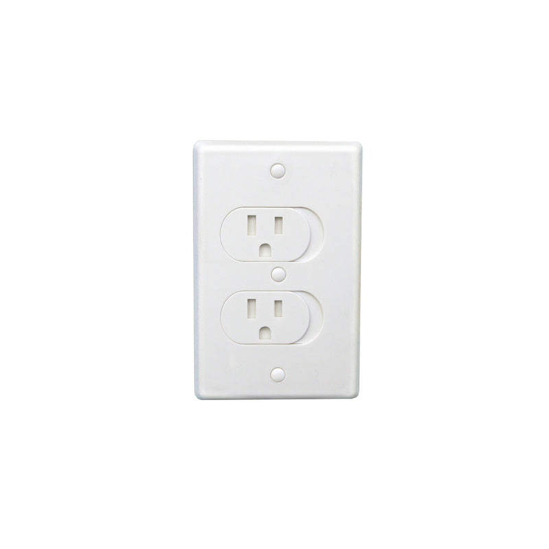 Qdos Universal Self-Closing Outlet Cover | kids at home