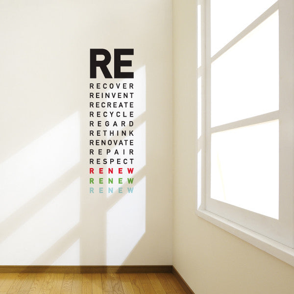Renew Wall Decal