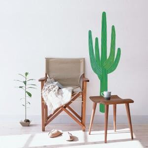 King Cactus Wall Decal