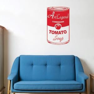 ADzif Tomato Soup Wall Decal | kids at home