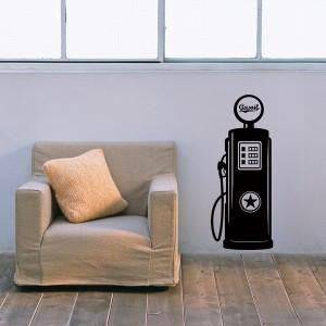Wall Decal - Gaz Pump Wall Decal