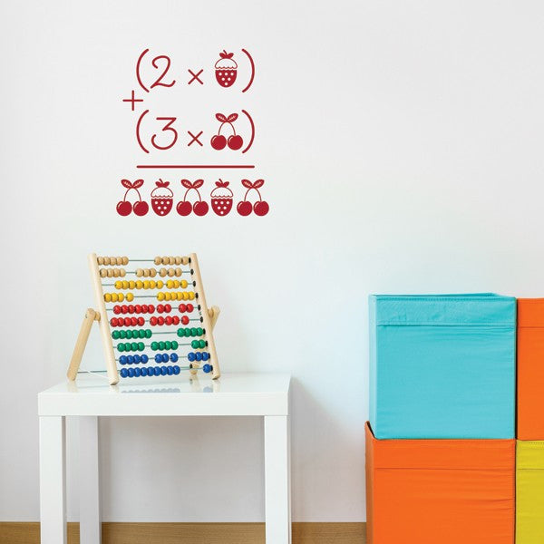 ADzif Wall Decal - Cherries and Strawberries | kids at home