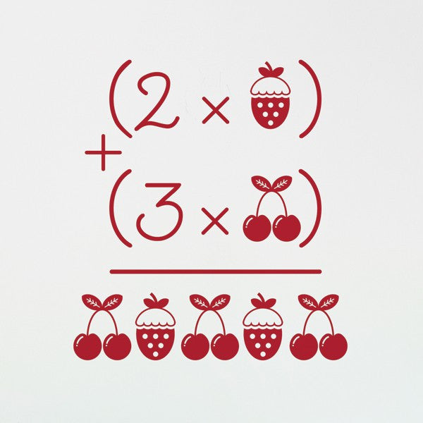 Wall Decal - Cherries and Strawberries Wall Decal