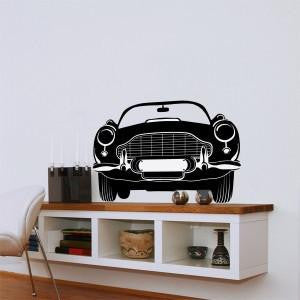 ADzif | Wall Decal - English Car Wall Decal