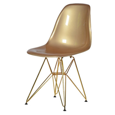 Plata Import Eiffel Chair - Gold Chairs | kids at home