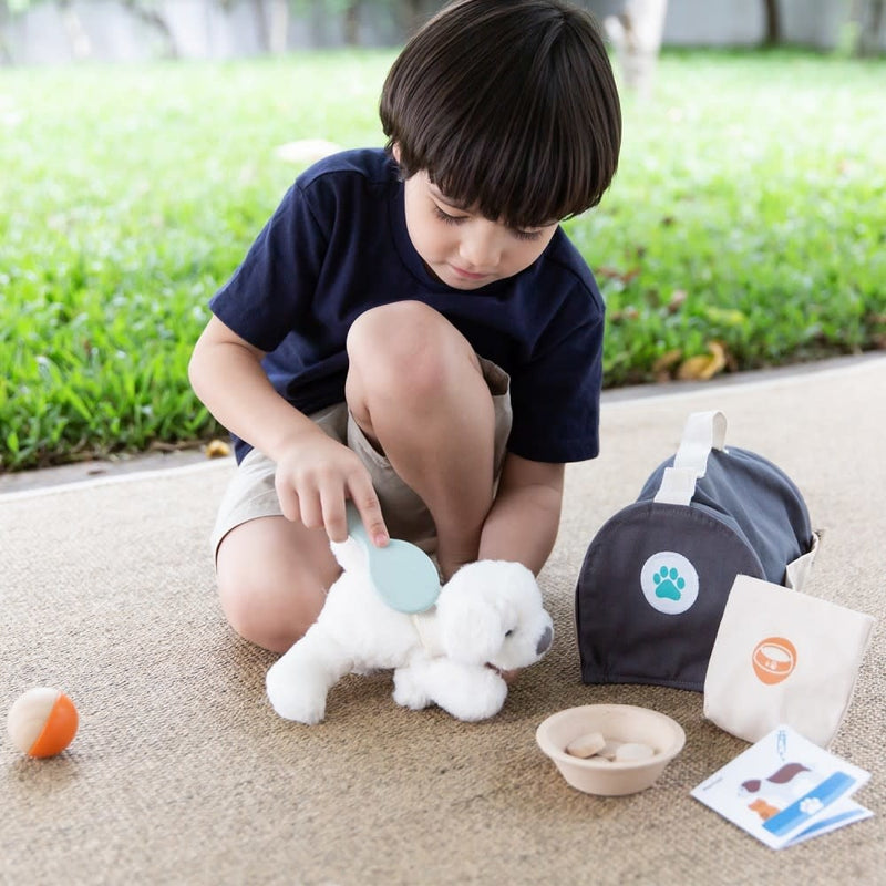 PlanToys Pet Care Set Toys | kids at home