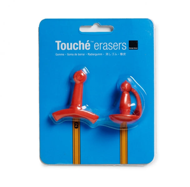 Design Ideas | Touché Erasers (Set of 2)