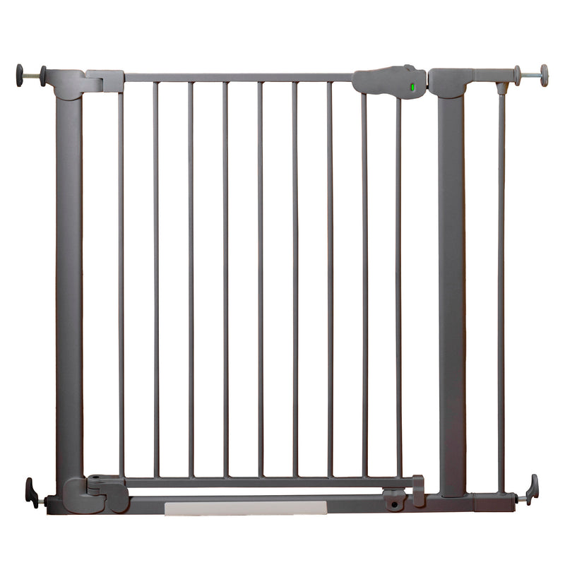 Qdos Auto-Close SafeGate - Slate Safety Gate | kids at home