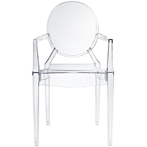Kids Ghost Chair - Clear