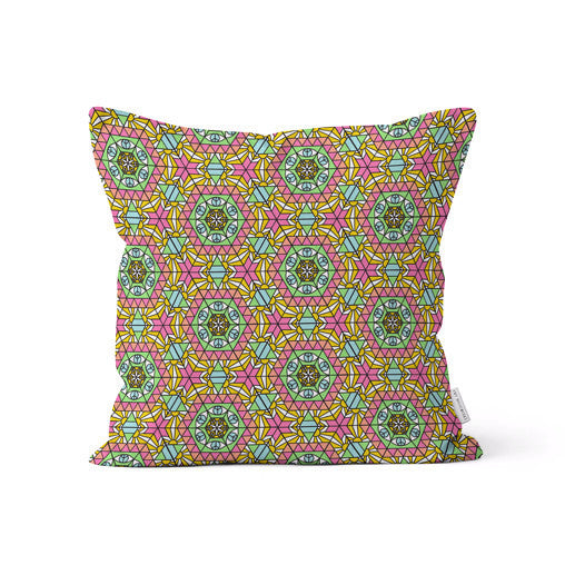 "Amy Migicovsky Rock My Soul - ""Sun Eye"" Throw Cushion Pillows 