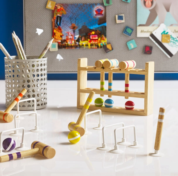Design Ideas | DesktopCroquet Set