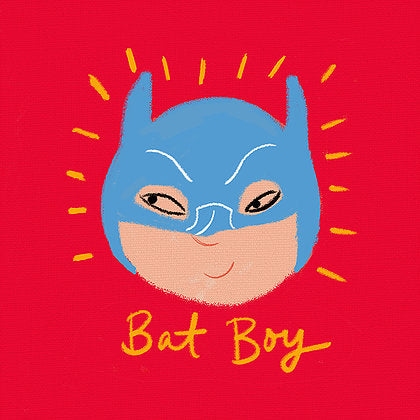 Bat Boy & Wonder Girl Cushion