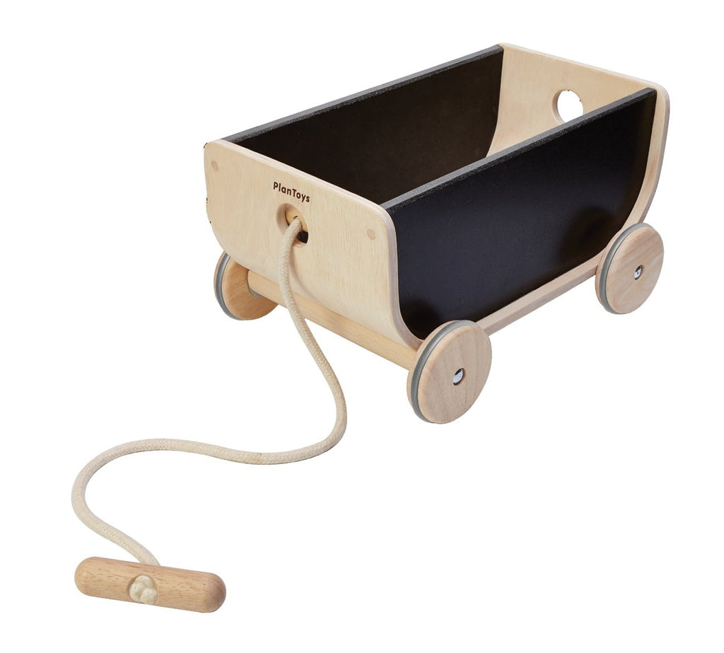 PlanToys Wagon - Black Toys | kids at home