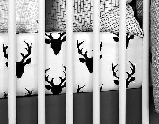 Deer Crib Sheets